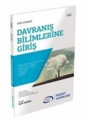 Murat Yayınları - 1. Sınıf 1. Yarıyıl Davranış Bilimlerine Giriş Kod:9002 Murat Yayınları