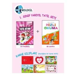 Molekül Yayınları - 1. Sınıf Yarıyıl Tatil Seti Molekül Yayınları