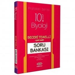 Data Yayınları - 10. Sınıf Biyoloji Beceri Temelli Soru Bankası Protokol Serisi Data Yayınları