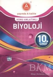 A Yayınları - 10. Sınıf Biyoloji Konu Anlatımlı