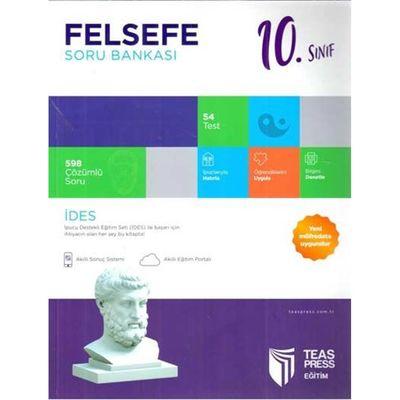 10. Sınıf Felsefe Soru Bankası Teas Press Yayınları