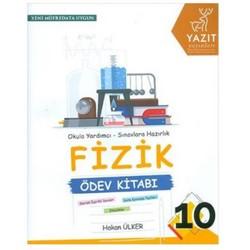 Yazıt Yayınları - 10. Sınıf Fizik Ödev Kitabı