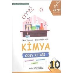 Yazıt Yayınları - 10. Sınıf Kimya Ödev Kitabı