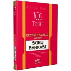 Data Yayınları - 10. Sınıf Tarih Beceri Temelli Soru Bankası Protokol Serisi Data Yayınları