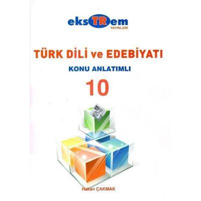 10. Sınıf Türk Dili ve Edebiyatı Konu Anlatımlı Ekstrem Yayınları
