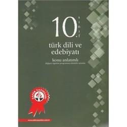 Zafer Dershaneleri Yayınları - 10. Sınıf Türk Dili ve Edebiyatı Konu Anlatımlı Zafer Yayınları