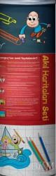 Tonguç Akademi - 10.2 Akıl Haritaları Seti (9 Poster)