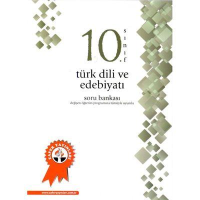 10.Sınıf Türk Dili Edebiyatı Soru Bankası Zafer Yayınları