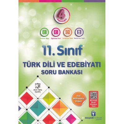 11. Sınıf 4 Adımda Türk Dili ve Edebiyatı Soru Bankası Başarıyorum Yayınları