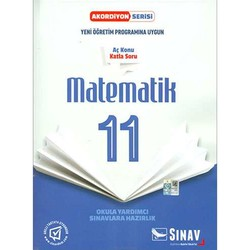 Sınav Yayınları - 11. Sınıf Matematik Akordiyon Serisi