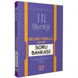Data Yayınları - 11. Sınıf Biyoloji Beceri Temelli Soru Bankası Protokol Serisi Data Yayınları