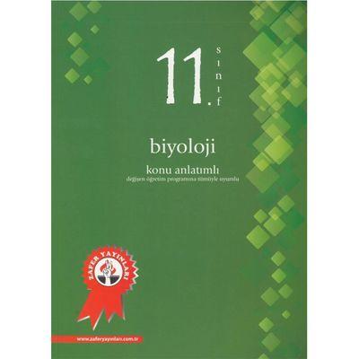 11. Sınıf Biyoloji Konu Anlatımlı Zafer Yayınları