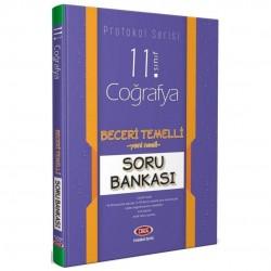Data Yayınları - 11. Sınıf Coğrafya Beceri Temelli Soru Bankası Protokol Serisi Data Yayınları