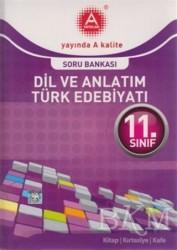 A Yayınları - 11. Sınıf Dil ve Anlatım Türk Edebiyatı Soru Bankası