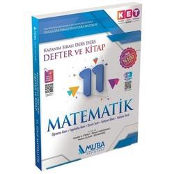 Muba Yayınları - 11. Sınıf KET Serisi Matematik Defter ve Kitap Muba Yayınları
