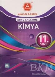 A Yayınları - 11. Sınıf Kimya Konu Anlatımlı A Yayınları