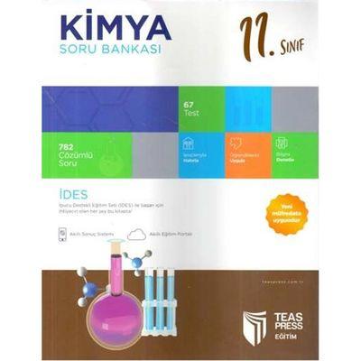 11. Sınıf Kimya Soru Bankası Teas Press Yayınları