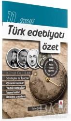 Delta Kültür Basım Yayın - 11. Sınıf Türk Edebiyatı Özet