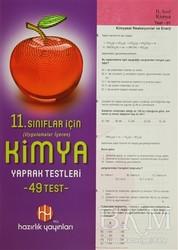 YCL Hazırlık Yayınları - 11. Sınıflar İçin Uygulamalar İçeren Kimya Yaprak Testleri (49 Test)