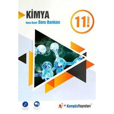 11.Sınıf Kimya Konu Özetli Soru Bankası Kampüs Yayınları