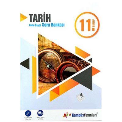 11.Sınıf Tarih Konu Özetli Soru Bankası Kampüs Yayınları