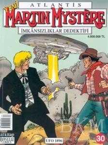 Atlantis Martin Mystere İmkânsızlıklar Dedektifi Sayı: 30 Ufo 1896