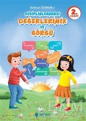 Mavi Bilye Yayınları - 2. Sınıf Disiplinlerarası Değerlerimiz ve Görgü