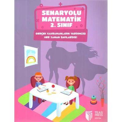 2. Sınıf Senaryolu Matematik Teas Press Yayınları