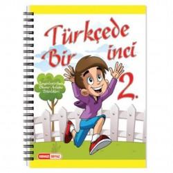Kırmızı Beyaz Yayınları - 2. Sınıf Türkçede Bir İnci Kırmızı Beyaz Yayınları