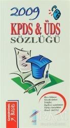 Art Basın Yayın Hizmetleri - 2009 KPDS ve ÜDS Sözlüğü