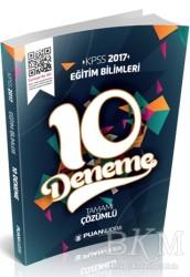 Puan Akademi - 2017 KPSS Eğitim Bilimleri Tamamı Çözümlü 10 Deneme