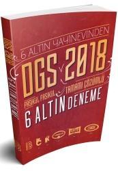 Benim Hocam Yayınları - 2018 DGS Fasikül Fasikül Tamamı Çözümlü 6 Altın Deneme