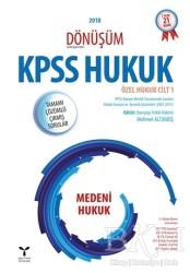 Umuttepe Yayınları - 2018 Dönüşüm KPSS Hukuk - Özel Hukuk Cilt: 1