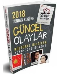 Benim Hocam Yayınları - 2018 Dünden Bugüne Güncel Olaylar Kültürel Bilgiler Konu Soru Deneme Benim Hocam Yayınları