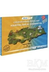 Pusula Akademi Yayınları - 2018 KPSS Coğrafyanın Pusulası Haritalarla Coğrafya