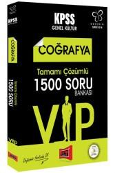 Yargı Yayınları - 2018 KPSS DEĞİŞİM VIP COĞ.1500 ÇÖZ.SORU B