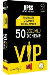 Yargı Yayınları - 2018 KPSS DEĞİŞİM VIP MAT GEO 50 DENEME