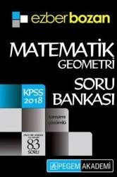 Pegem A Yayıncılık - KPSS Kitapları - 2018 KPSS Ezberbozan Matematik Geometri Soru Bankası