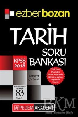2018 KPSS Ezberbozan Tarih Soru Bankası
