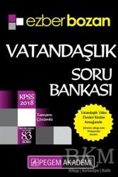 Pegem A Yayıncılık - Hazırlık Kitapları - 2018 KPSS Ezberbozan Vatandaşlık Soru Bankası