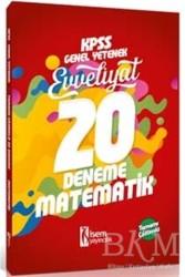 İSEM Yayıncılık - 2018 KPSS Genel Yetenek Evveliyat Matematik Tamamı Çözümlü 20 Deneme