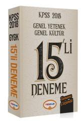 Yediiklim Yayınları - 2018 KPSS Genel Yetenek Genel Kültür Tamamı Çözümlü 15 Deneme