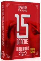 Yediiklim Yayınları - 2018 KPSS Genel Yetenek Matematik Tamamı Çözümlü 15 Deneme