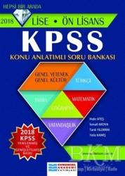 Evrensel İletişim Yayınları - 2018 KPSS Lise - Ön Lisans Konu Anlatımlı Soru Bankası