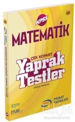 Murat Yayınları - KPSS Kitapları - 2018 KPSS Matematik Çek Kopart Yaprak Testler
