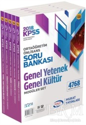 Murat Yayınları - KPSS Kitapları - 2018 KPSS Ortaöğretim Ön Lisans Genel Yetenek Genel Kültür Modüler Soru Bankası