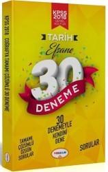 Yediiklim Yayınları - 2018 KPSS Tarih Tamamı Çözümlü Efsane 30 Deneme