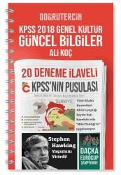 Doğru Tercih Yayınları - 2018 KPSS'nin Pusulası Genel Kültür Güncel Bilgiler