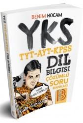 Benim Hocam Yayınları - 2018 YKS-TYT-AYT-KPSS Dil Bilgisi Çözümlü Soru Bankası