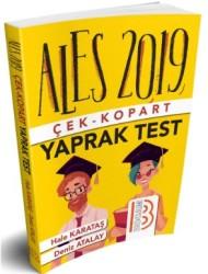 Benim Hocam Yayınları - 2019 ALES Çek Kopart Yaprak Test Benim Hocam Yayınları